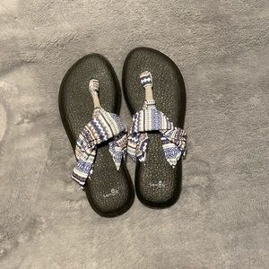 Sanuk Yoga Sling Sandals Size 8